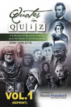 Quotes in Quiz - The Puzzles for the Smart, Pocketbook Volume01