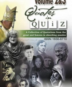 Quotes in Quiz - The Puzzles for the Smart, Pocketbook Volume03
