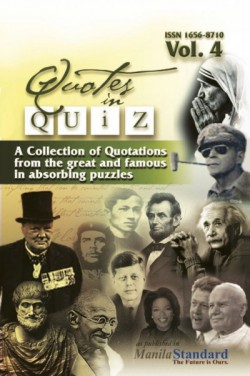 Quotes in Quiz - The Puzzles for the Smart, Pocketbook Volume04
