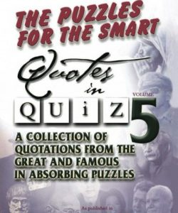 Quotes in Quiz - The Puzzles for the Smart, Pocketbook Volume05