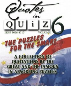 Quotes in Quiz - The Puzzles for the Smart, Pocketbook Volume06