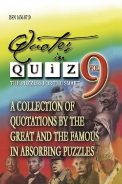 Quotes in Quiz - The Puzzles for the Smart, Pocketbook Volume09