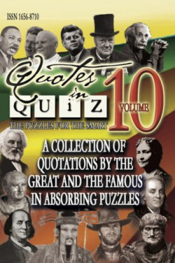 Quotes in Quiz - The Puzzles for the Smart, Pocketbook Volume10