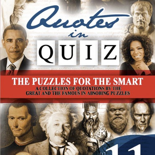 Quotes in Quiz - The Puzzles for the Smart, Pocketbook Volume11