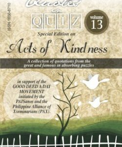 Quotes in Quiz - The Puzzles for the Smart, Pocketbook Volume13