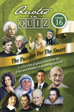 Quotes in Quiz - The Puzzles for the Smart, Pocketbook Volume16