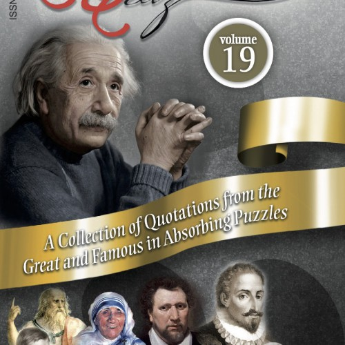 Quotes in Quiz - The Puzzles for the Smart, Pocketbook Volume19