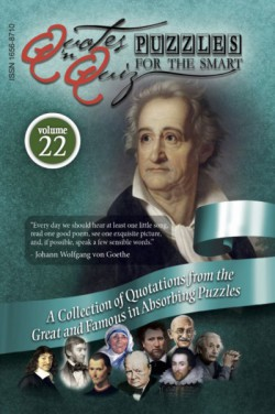 Quotes in Quiz - The Puzzles for the Smart, Pocketbook Volume22