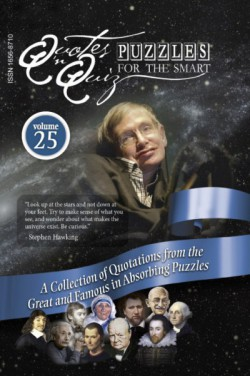 Quotes in Quiz - The Puzzles for the Smart, Pocketbook Volume25