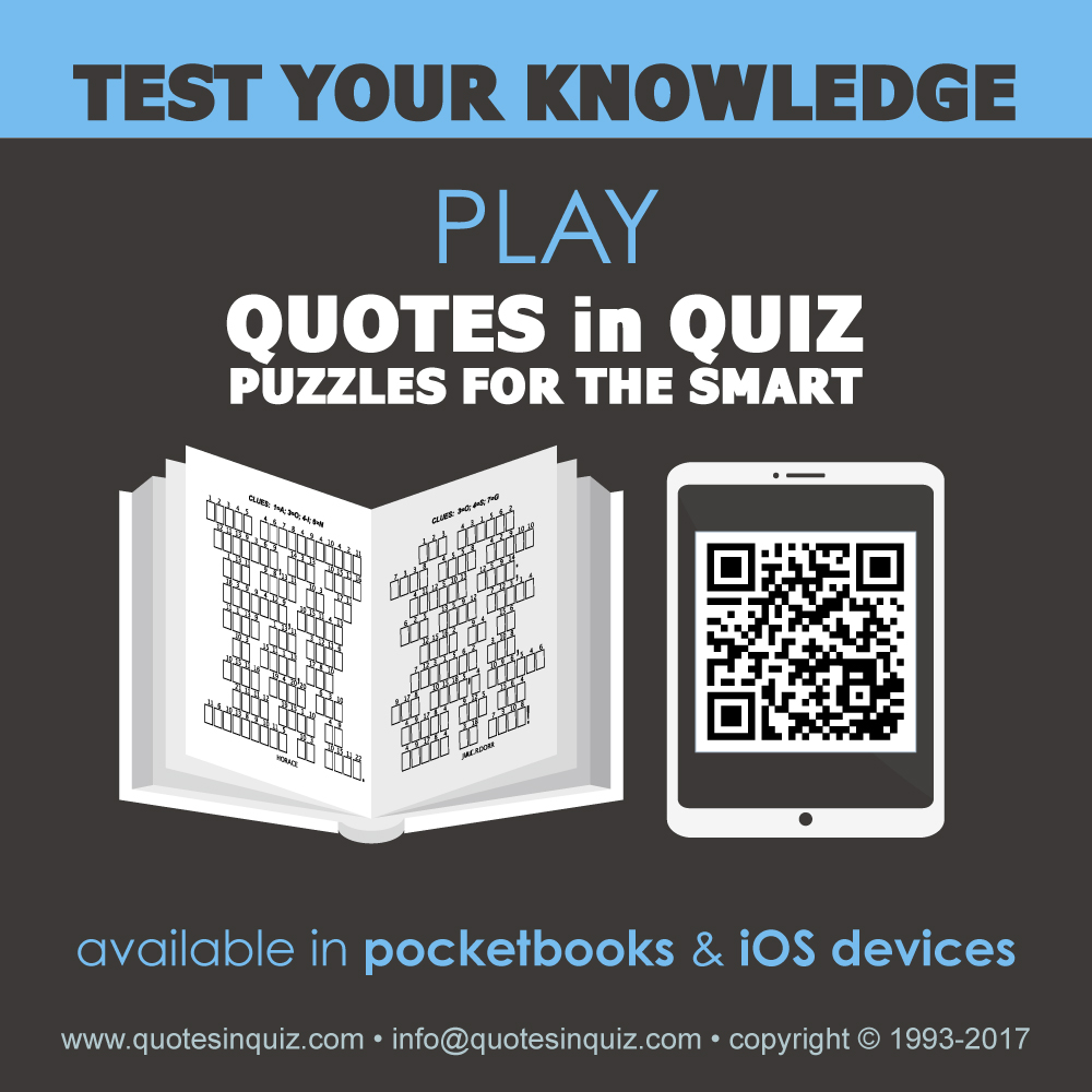 Beautiful Test Your Knowledge. Play Quotes In Quiz, Puzzles For The Smart. Available  In